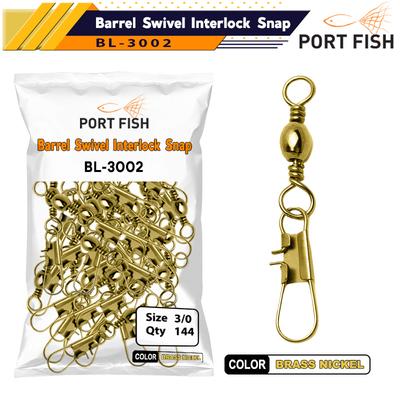 PORTFISH - Portfish BL-3002 Klipsli Fırdöndü-Kilitli Sarı 144 Lü