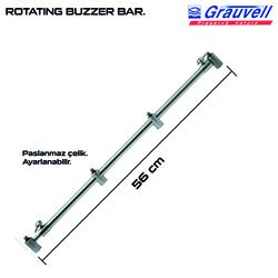 Grauvell - Grauvell BUZZER BAR ROT 56CM BZ-05