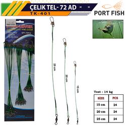 PORTFISH - Portfish Çelik Tel Kartela 72 Li