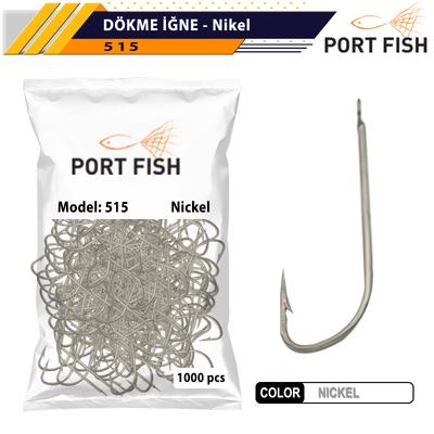 PORTFISH - Portfish Dökme Nikel İğne 1000 Li Paket