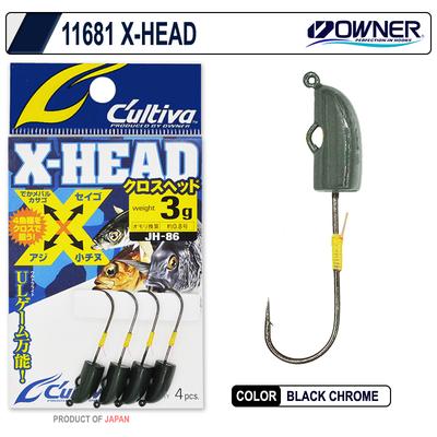 OWNER - Owner 11681 X-Head Lrf Jighead