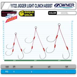 Cultiva 11722 Jigger Light Clint Assist Jig İğnesi - Thumbnail