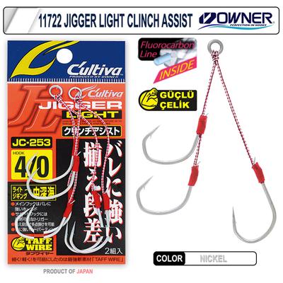 CULTIVA - Cultiva 11722 Jigger Light Clint Assist Jig İğnesi