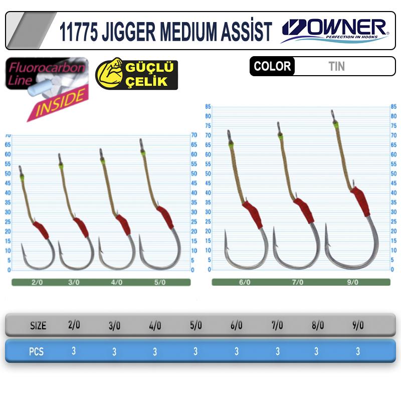 Cultiva 11775 Jigger Medium Assist İğne