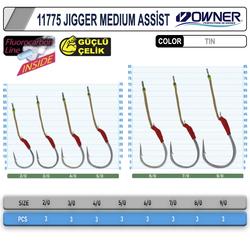 Cultiva 11775 Jigger Medium Assist İğne - Thumbnail