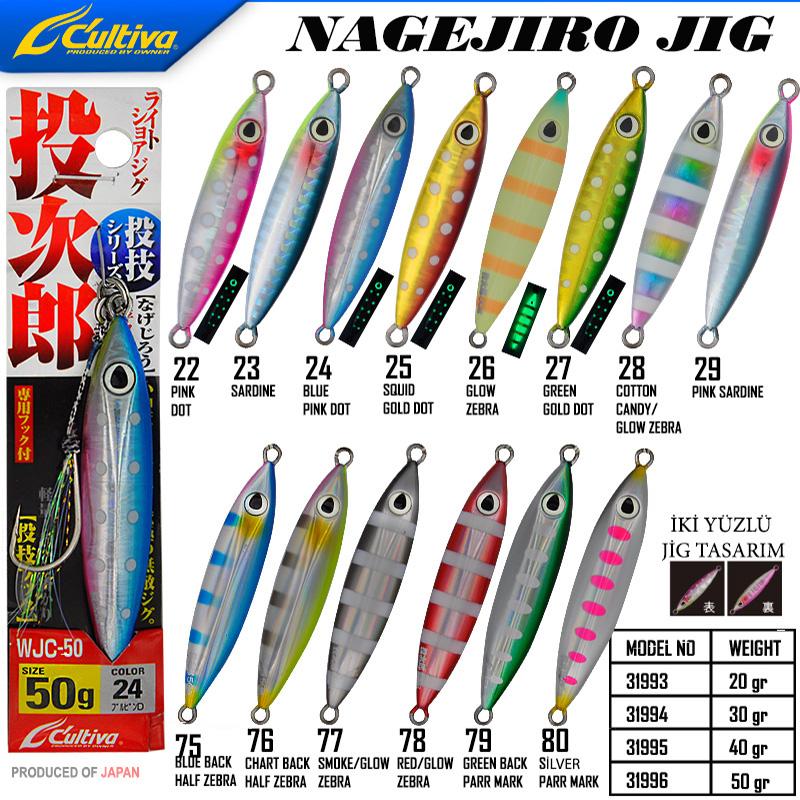 Cultiva 31996 Nagejiro Jig 50g