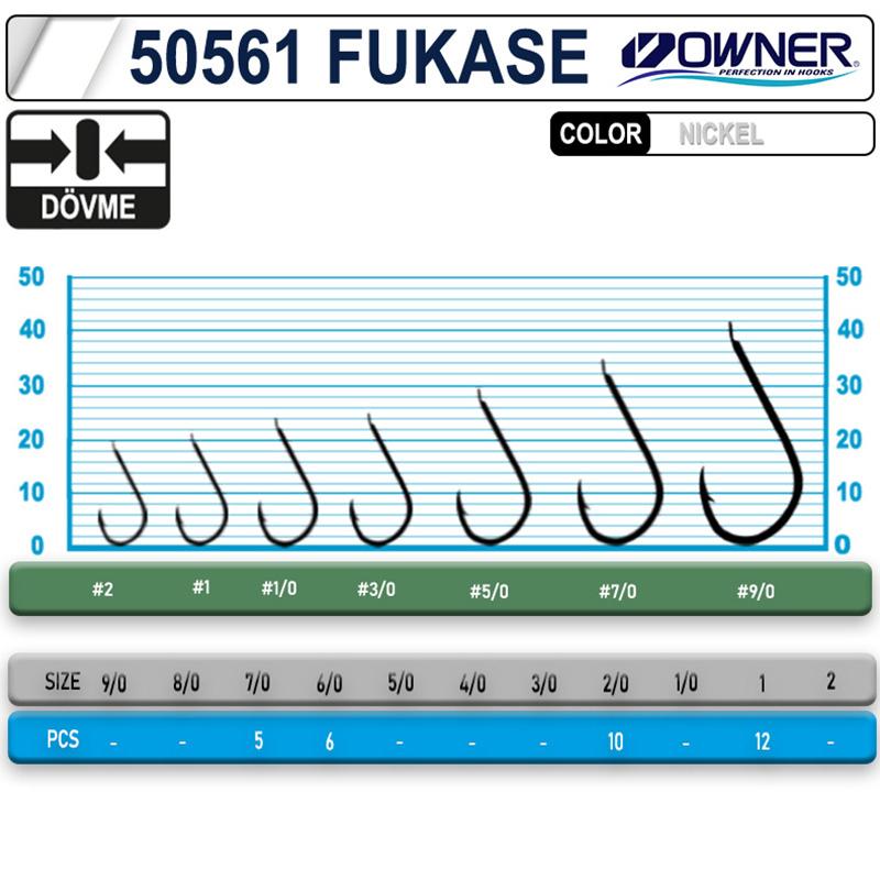 OWNER 50561 Fukase White