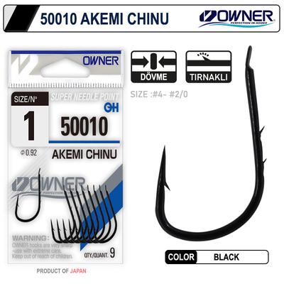 OWNER - Owner 50010 Akemi Chinu Black İğne