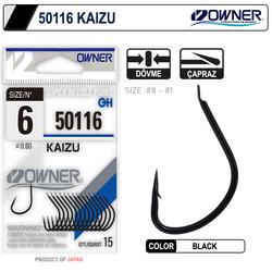 Owner - Owner 50116 Kaizu Black İğne