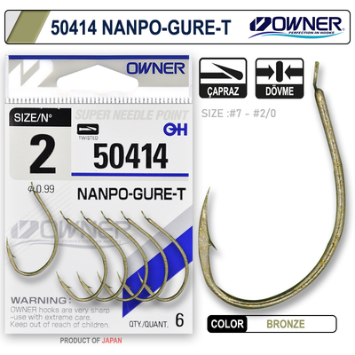 OWNER - Owner 50414 Nanpo Gure-T Oxidized Gold İğne