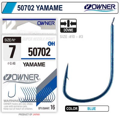OWNER - Owner 50702 Yamame Blue İğne