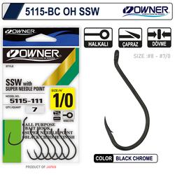 OWNER - Owner 5115 Oh Ssw Black Chrome İğne