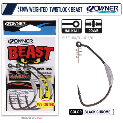 OWNER - Owner 5130W Weigted Twistlock Beast Silikon İğnesi