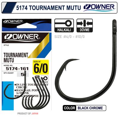 OWNER - Owner 5174 Tournament Mutu Black Chrome İğne