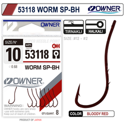 OWNER - Owner 53118 Worm Sp-Bh Bloody Red İğne