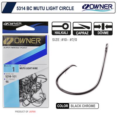 OWNER - Owner 5314 Mutu Light Black Chrome İğne