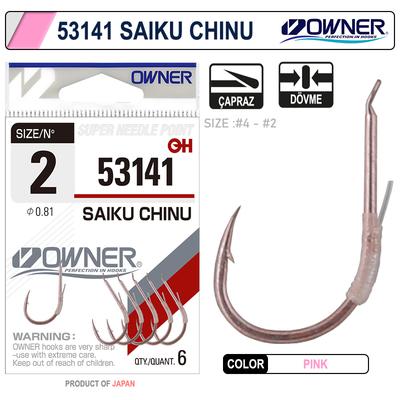 OWNER - Owner 53141 Saiku Chinu Pink İğne
