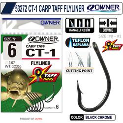 OWNER 53272 CT-1 CARP TAFF FLYLINER - Thumbnail