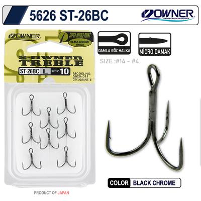 OWNER - Owner 5626 St-26 Black Chrome Çarpma İğne
