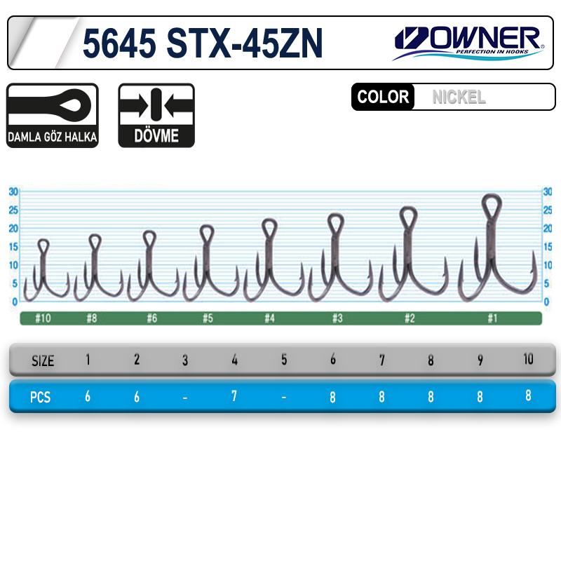 Owner 5645 Stx-45zn Taff Wire Zn Çarpma İğne