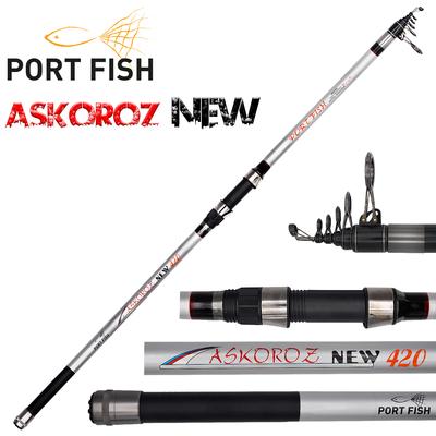 Portfish - Portfish Askoroz New Surf Carbon Kamışı 100-250 gr 390 CM