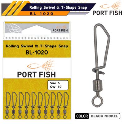 PORTFISH - Portfish BL-1020 Kilitli Maket Klipsi