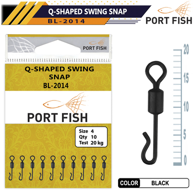 PORTFISH - Portfish BL-2014 Q- Shaped Swing Snap