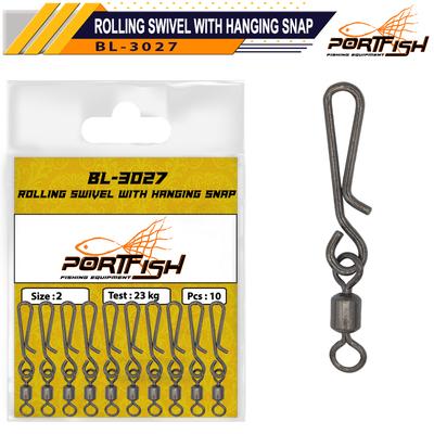 PORTFISH - Portfish BL-3027 Hızlı Değişim Fırdöndüsü