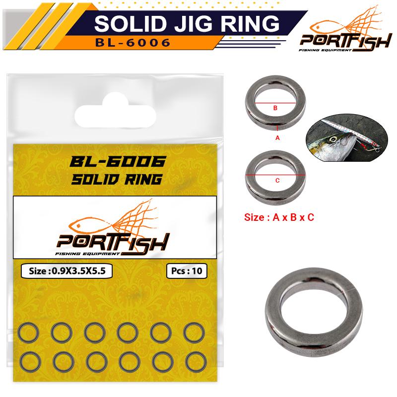 Portfish BL-6006 Solid Jig Halkası
