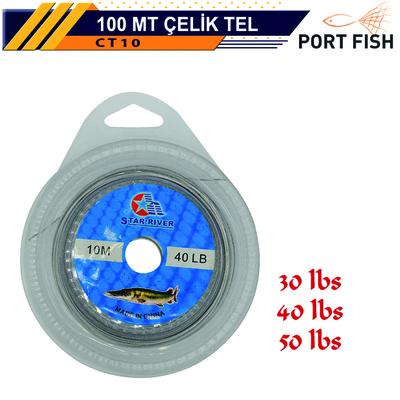PORTFISH - Portfish Çelik Telli 10 metre