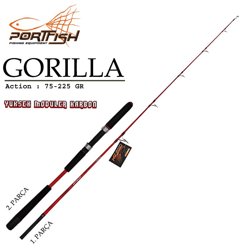 Portfish Gorilla Jig Kamış 180 cm (Yedek Parça)