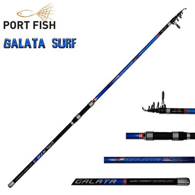 Portfish - Portfish Galata Surf 390 cm Carbon Olta Kamışı