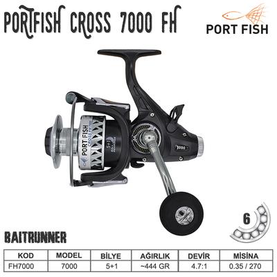 PORTFISH - Portfish Cross FH 7000 Baitrunner