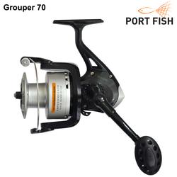 Portfish - Portfish Grouper Plastik Kafa 8000 Olta Makinası 4 bb