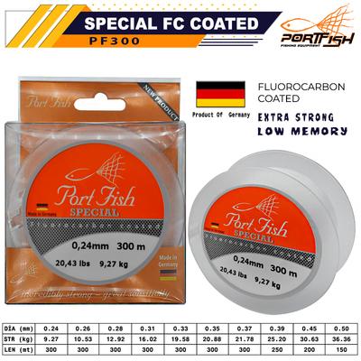 PORTFISH - Portfish Special Fluoro Carbon Coated 300 mt