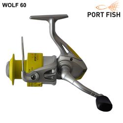 Portfish - Portfish Wolf 6000 Plastik Kafa Olta Makinası 3 bb