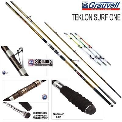 TEKLON - Teklon Surf One 3 Parça Surf Kamış 100-250 gr