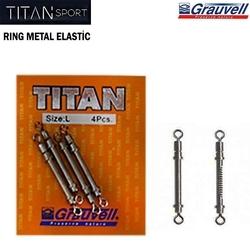 TITAN - Titan Elastic Metal Ring L Beden