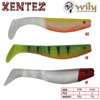 WILY - Wily Xentez Turna Silikon 8 cm