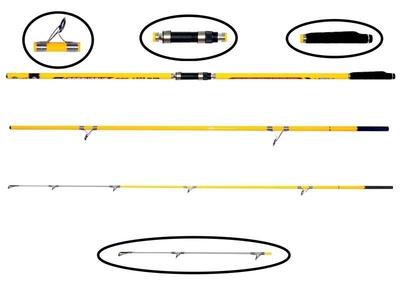 PORTFISH - Portfish Bosphorus 3 Parça Surf 420 cm Fuji Halka 250 gr