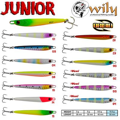 Wily - Wily Junior Jig 10.5 gr 5.5 cm