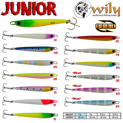 WILY - Wily Junior Jig 3 gr 2.6 cm