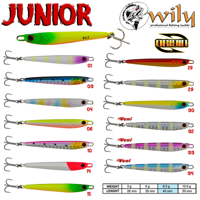 WILY - Wily Junior Jig 8.5 gr 4.5 cm
