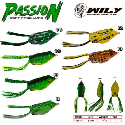 WILY - Wily Passion Silikon Kurbağa 6.5 cm 18.5 gr