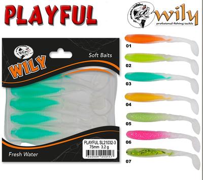 WILY - Wily Playful Silikon Yem 7.5 cm 3.2 gr