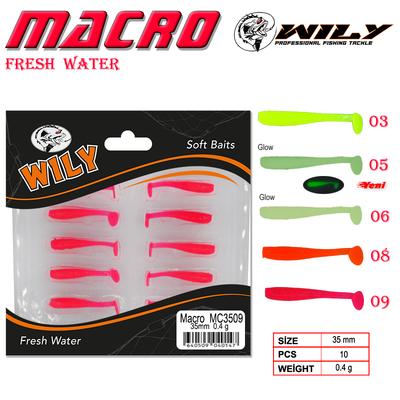 WILY - Wily Macro Lrf Silikon Yem 3.5 cm 0.4 gr