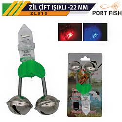 PORTFISH - Portfish Zil Pilli Çift Işıklı 22 mm